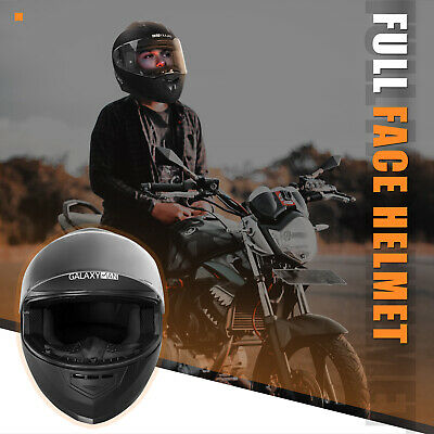 Safety Motorcycle Full Face Helmet Street Motorbike Helmets Racing + FREE GLOVES 7
