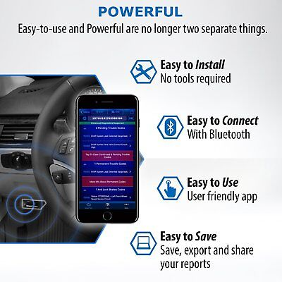 BlueDriver - Bluetooth Professional OBDII Scan Tool for iPhone iPad Android