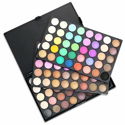 120 Colors Earth Cosmetic Powder Makeup Naked Matte Shimmer Eye Shadow Palette 5
