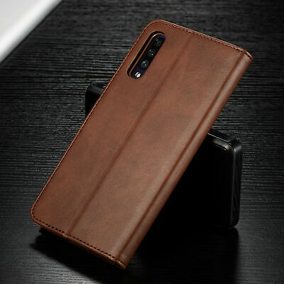 For Samsung Galaxy A70 A50 A40 30 A10 PU Leather Magnetic Wallet Flip Case Cover 2