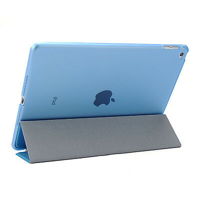 Smart Cover and Hard Back Case for Apple iPad 6th Gen iPad 5 4 3 2 mini Air 5