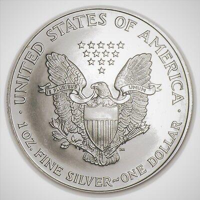 1997 Silver American Eagle BU Coin 1 oz $1 Dollar US Mint Uncirculated Brilliant 7