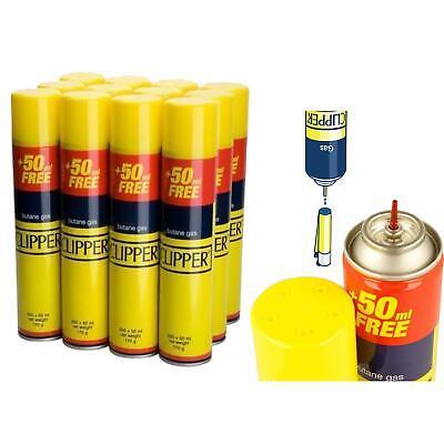 24 X Clipper Universal High Quality Butane Gas Lighter Refill Fluid 300ml Fuel 2