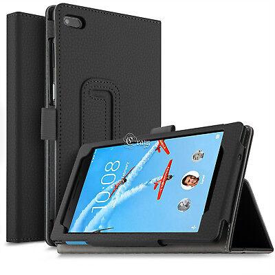 For Lenovo Tab E7 E8 Folding Stand PU Leather Business Heavy Duty Case Cover 2