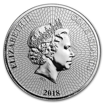 2018 Cook Islands 1 oz Silver Bounty Coin - SKU#152636