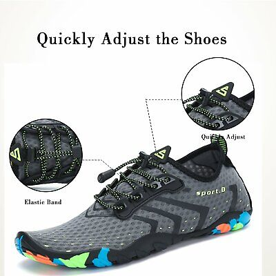 Water Shoes Quick Dry Barefoot for Swim Diving Surf Aqua Sport Beach Vaction 3