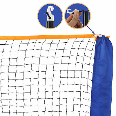 10 Feet Portable Badminton Volleyball Tennis Net Set with Stand/Frame Carry Bag 7