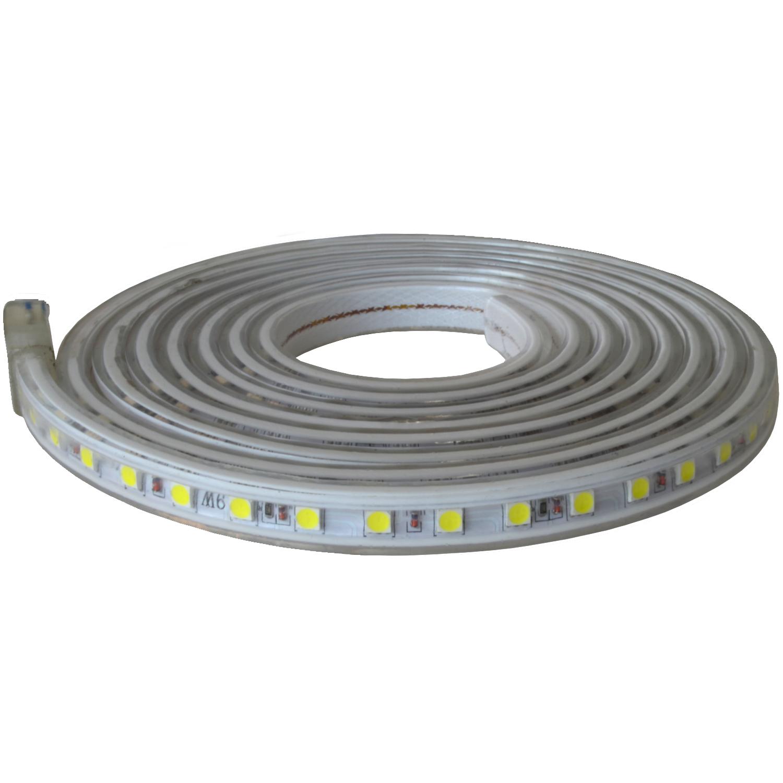 230V LED Strip dimmbar AN/AUS SMD Lichtleiste Lichtband Licht Schlauch Streifen 2