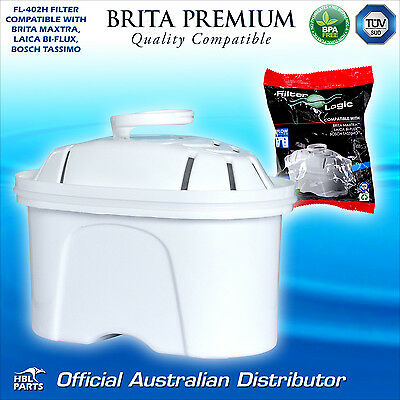 8 x FL402 Compatible Brita Maxtra Water Filter Jug Refill Replacement Cartridge