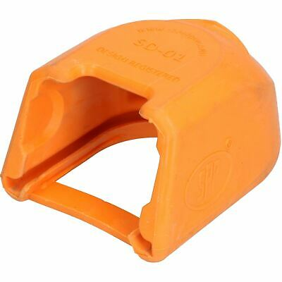 Trailer Pressed Steel Hitch Coupling Soft Cover Protector High Visibility Orange 3