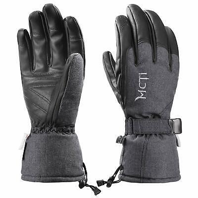 -40℃ Mens Ski Gloves Waterproof Warm Thermal Winter Snowboard Snow Skiing Gloves 2