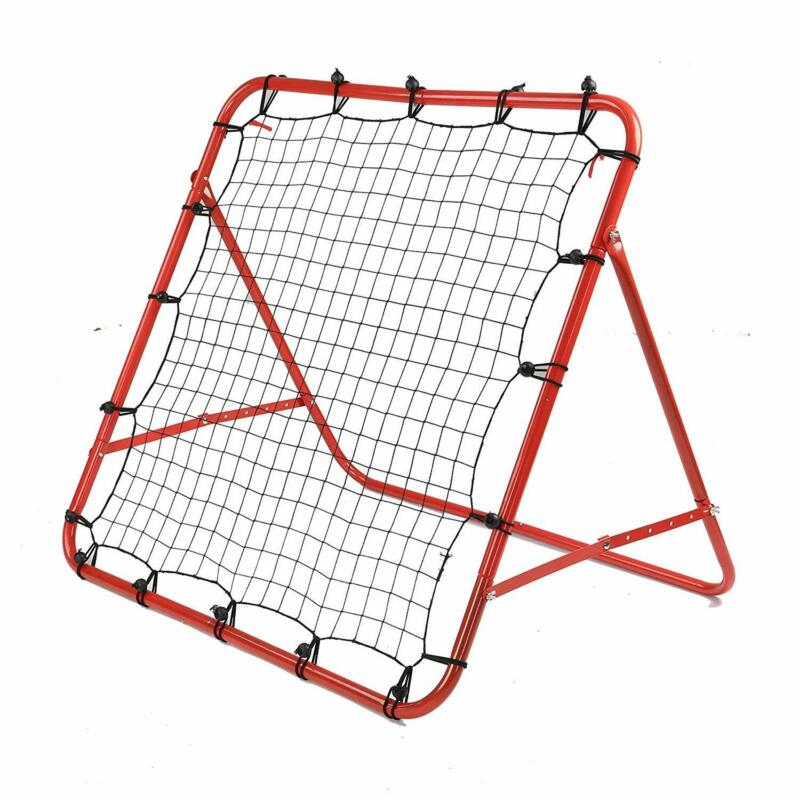 New Rebounder Net Kids Adults Football Training Aid Practice Adjustable 3