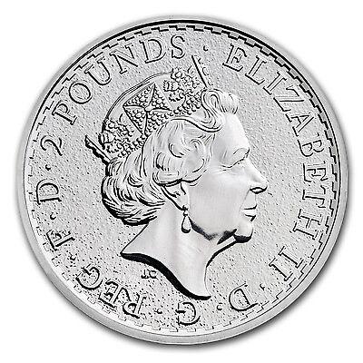 2017 Great Britain 1 oz Silver Britannia BU 2