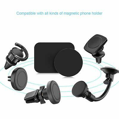 4 Pack Universal Mount Metal Plate with 3M Adhensive for magnetic phone holder 5