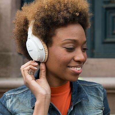 Bose SoundLink II Around-Ear Wireless Headphones HD NFC White 🎧 AE II Bluetooth 5