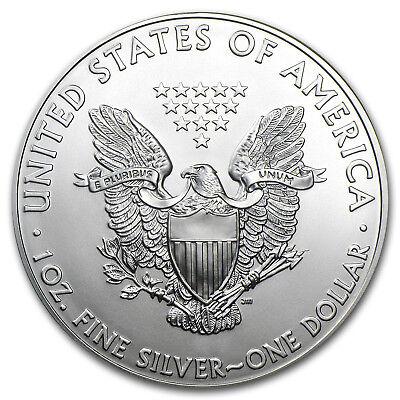 2012 1 oz Silver American Eagle BU - SKU #65202 2