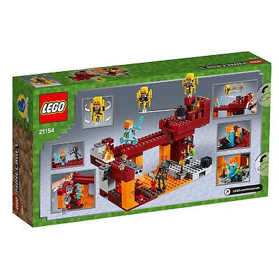 LEGO Minecraft 21154 Die Brücke Wither-Skelett Nether-Kulisse  N8/19 2