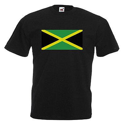 Jamaica Flag Children's Kids T Shirt 9