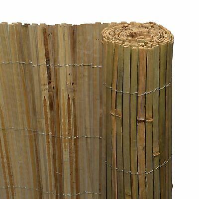Garden Bamboo Fence Slat Screening Slatted Privacy Shield Wind/Sun Protraction 3