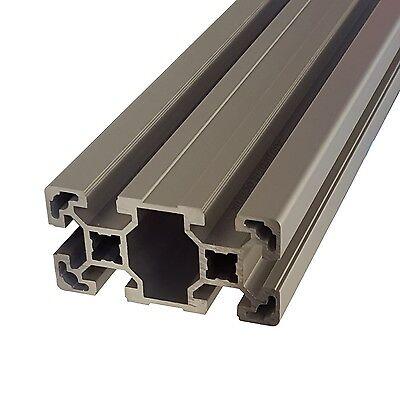 Profilabdeckkappe schwarz 40 x 80 Nut 10 Bosch Raster Alu profil 40 x 80 ★★★★★