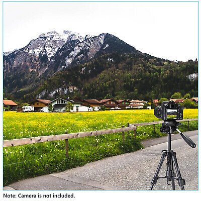 Neewer Mini Travel Tabletop Camera Tripod 24 inches with 3-Way Swivel Pan Head 6