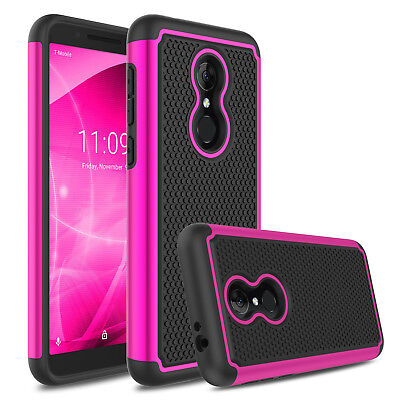 For T-Mobile REVVL 2/Alcatel 3 Case Shockproof Protective Armor Hard Phone Cover