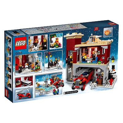 LEGO Creator Expert 10263 Winterliche Feuerwache Winter Village Fire Station NEU 2