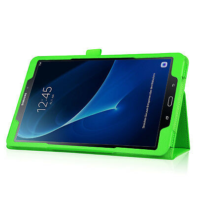 """For Samsung Tab A 8.0 10.1 E 9.6"""" Tablet PU Leather Flip Cover Case Litchi Grain 8"""