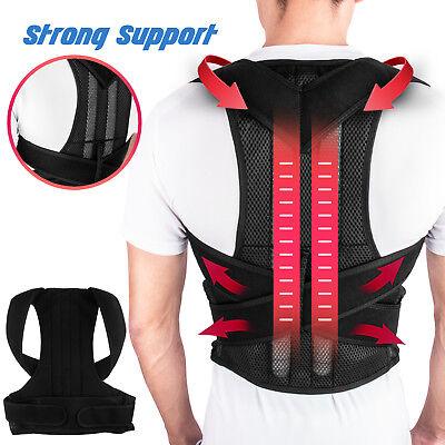 Back Posture Correction Shoulder Corrector Support Brace Belt Therapy Men Women 11
