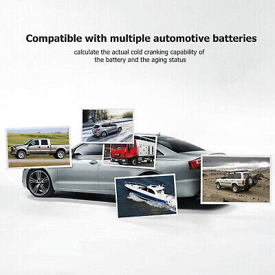 ANCEL BST100 12V 220Ah 2000CCA Battery Load Tester Vehicle Battery Analyzer Tool 6