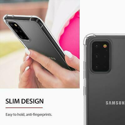 For Samsung Galaxy S20 S20+ Ultra S10 S10+ S10E Heavy Duty Soft Clear Case Cover 6