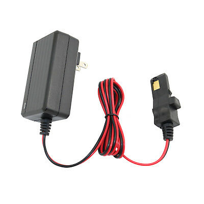 12 Volt Battery Charger Cord For Power Wheels Gray / Orange Top Battery 12V 2