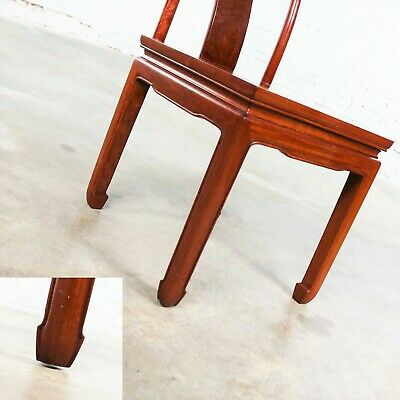 Asian Teak Hand Carved Side Chair in the Style of George Zee 12