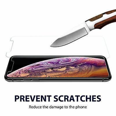 Verre Trempe Iphone Film Vitre Protection Ecran 11 Pro Max 6 7 8 Plus X Xr Xs 5