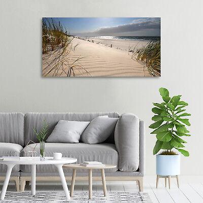 Glas-Bild Wandbilder Druck auf Glas 140x70 Deko Landschaften Ostsee Strand