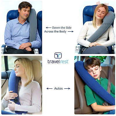 - Ultimate Travel Pillow - Lean Into It to Sleep - Fall Asleep Faster Stay As... 10