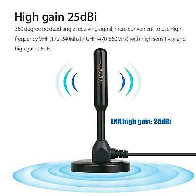 200 Mile Range Antenna TV Digital HD Booster 4K Antena Digital Indoor HDTV 1080P 8