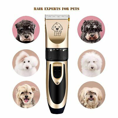 Rechargeable Cat Dog Clipper Cordless Pet Clippers Hair Shaver Grooming Trimmer 6