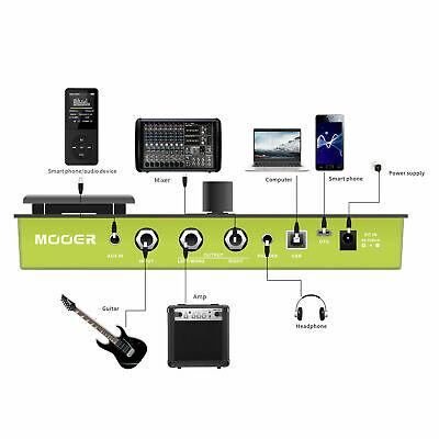 MOOER GE150 Amp Modelling & Multi Effects Pedal 55 Amplifier Models New release 3