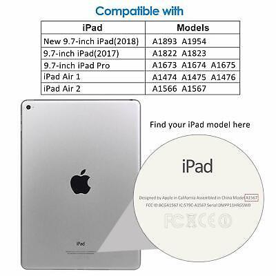 New iPad Screen protector Tempered Glass for iPad 5th 6th 2017/2018 9.7 iPad Air 6
