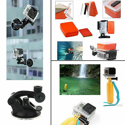Accessories 216pcs Pack Case Chest Head Floating Monopod GoPro Hero 7 6 5 4 3+2 10