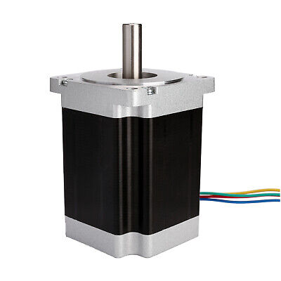 1PC Nema34 86BYGH stepper motor 1232oz.in 5.6A bipolar 4wires 116mm 34HS1456 CNC 5