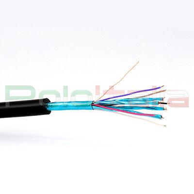 Cavo da 1 a 20m DVI-D dual link 24+1   HDMI maschio audio video cable adattatore 5