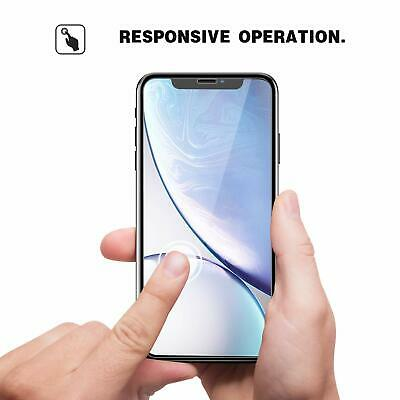 Screen Protector for New iPhone XR XS Max XS X Gorilla Tempered Glass 8
