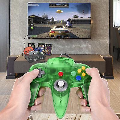 N64 Controller Gamepad Joystick for Nintendo 64 Video Game Console Jungle Green 11