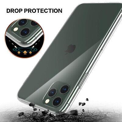 iPhone 11 Pro Max X XS MAX XR iPhone 8 Plus 7 Plus Case Clear Slim Soft Cover 5