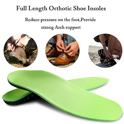 Orthotic Shoe Insoles Inserts Flat Feet High Arch Support for Plantar Fasciitis 8