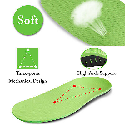 Orthotic Shoe Insoles Inserts Flat Feet High Arch Support for Plantar Fasciitis 4