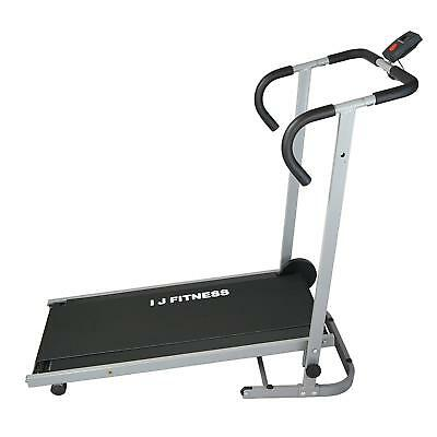 Manual Treadmill Walking Running Cardio Portable Incline Fitness Workout 4