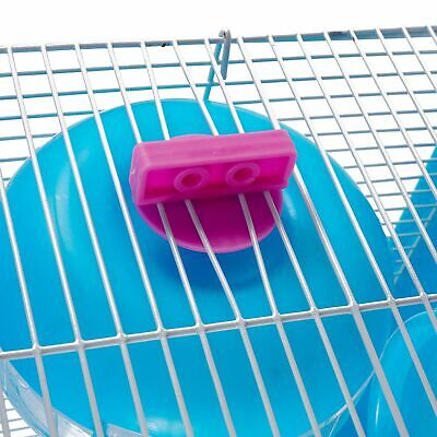 3-Tier Hamster Cage Small Rodent House Gerbil Mice Mouse Cages Animal Play Home 9